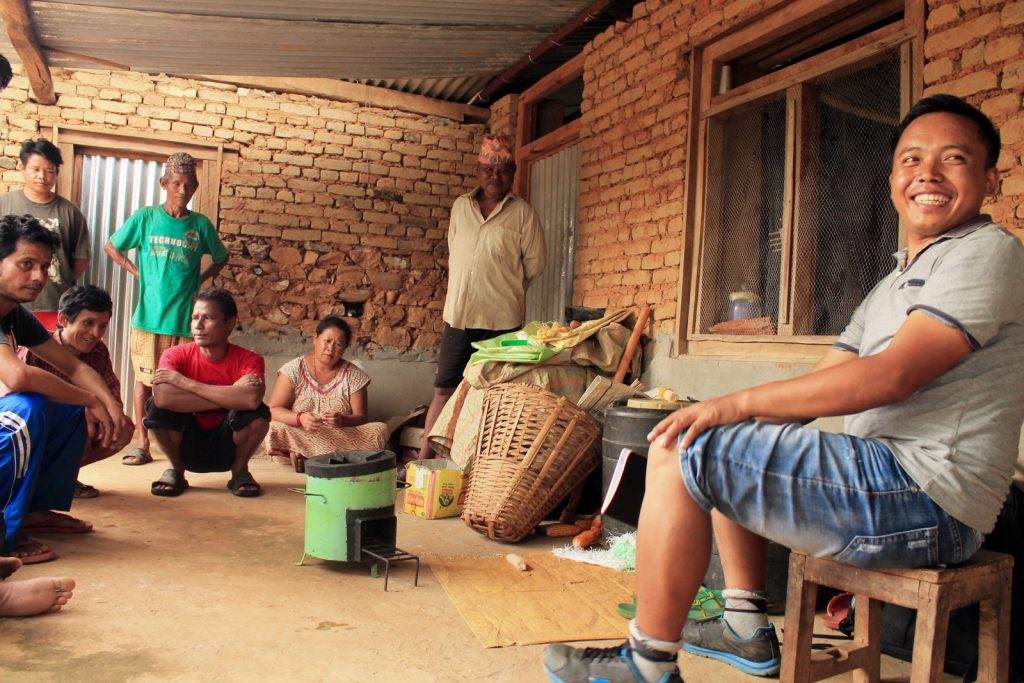 Community meetings for sustainable projects