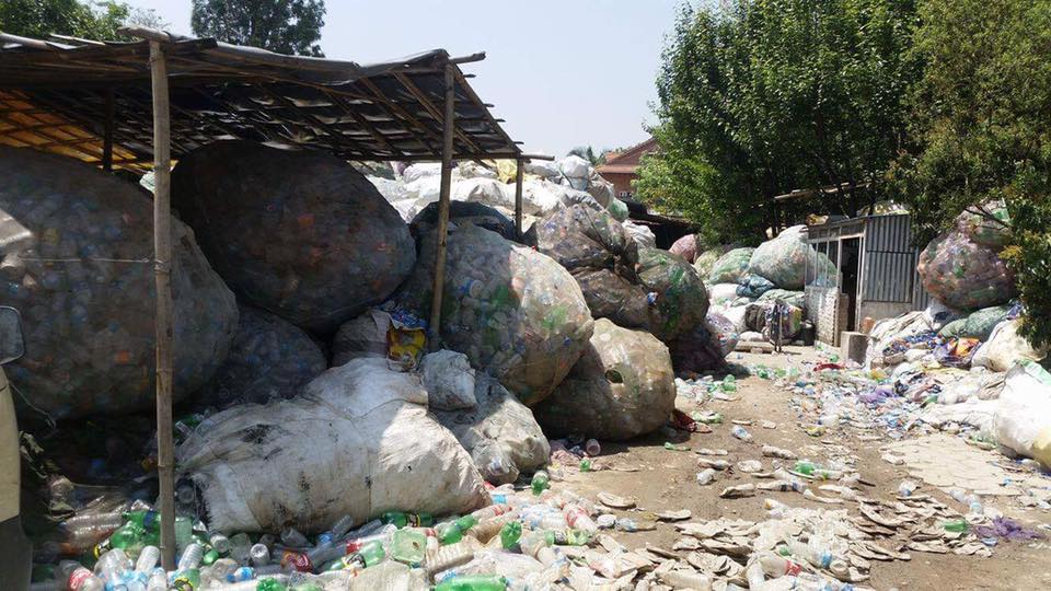 Sustainable Plastic Bottle Recycling Centre