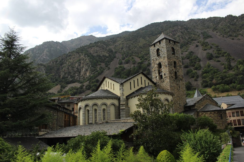 Beautiful Church in Andorra
