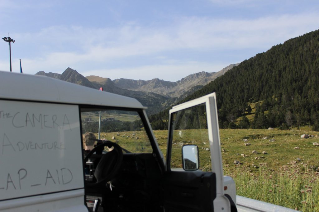 Andorran Mountains in a Land Rover